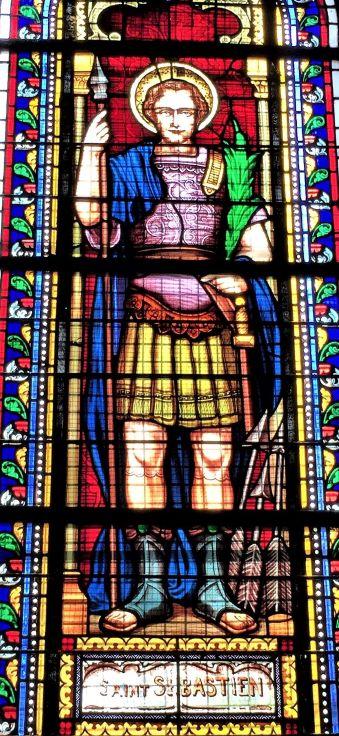 saint Sébastien, Barbâtre